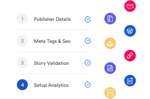 Create SEO friendly web stories using different publishing tools